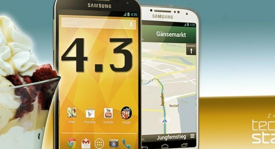 Samsung Galaxy S4: 4.3-ROM der Google-Edition geleakt