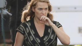 """Kate Winslet na planie filmu """"The Dressmaker"""""""