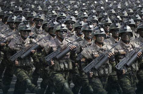 Vojska u Pjongjangu
