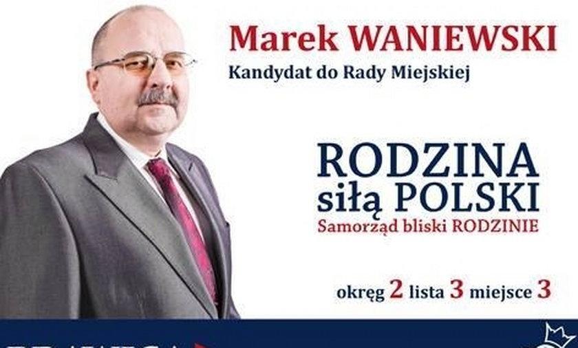 Gliwice. Marek Waniewski radny PiS trafił do aresztu na jeden dzień