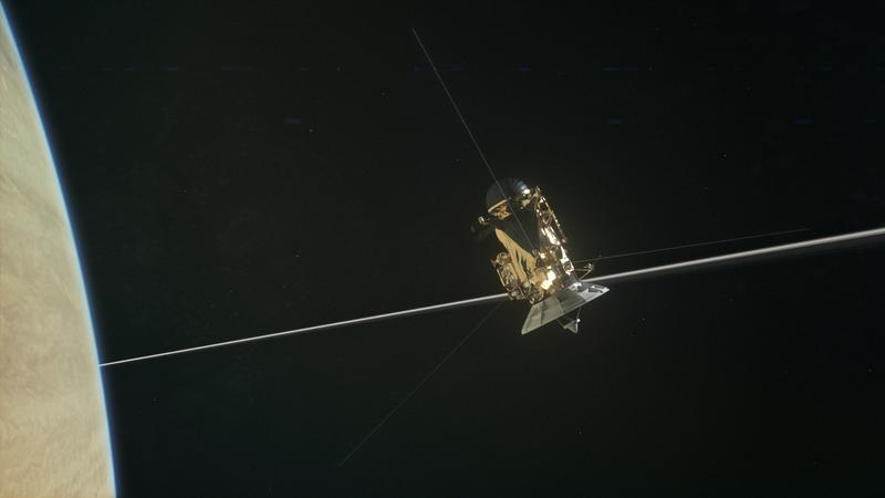 Ciekawe odkrycie sondy Cassini
