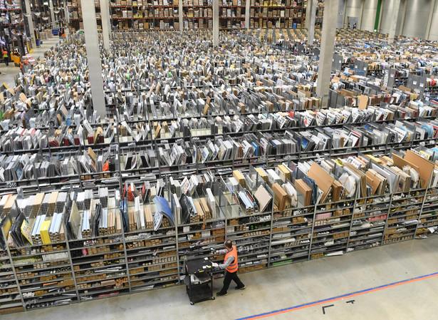 Magazyn Amazon w Pforzheim w Niemczech
