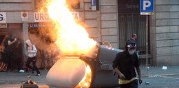 Zamieszki w Barcelonie. Straty szacowane na ponad 2,5 mln euro