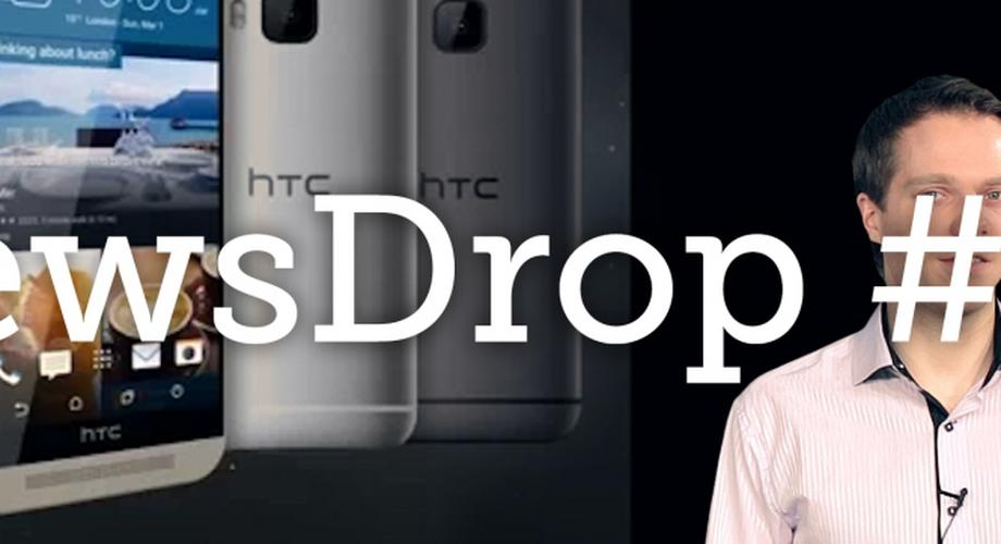 NewsDrop #28: Pebble Time, HTC One M9, Xperia Z4 Tablet