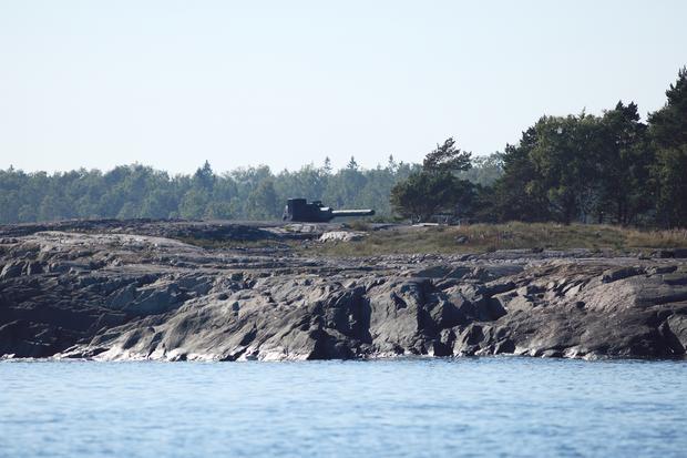 Stanowisko artyleryjskie na Isosaari