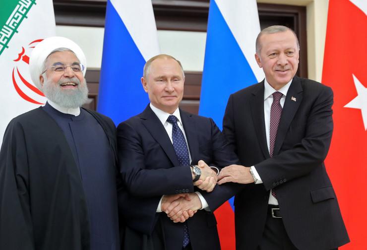Rohani, Putin i Erdogan MICHAEL KLIMENTYEV