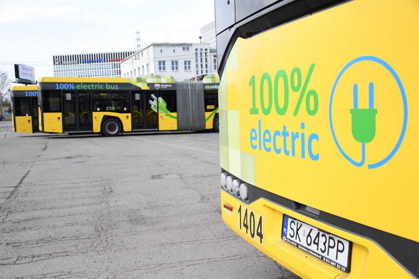 Zakup 43 elektrycznych autobusów dla województwa śląskiego