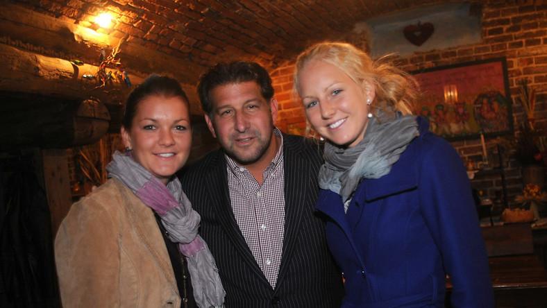 Ken Meyerson i siostry Radwańskie