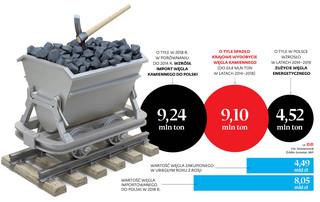 Import węgla znów idzie na rekord. Tylko w styczniu za zagraniczny węgiel zapłaciliśmy 813,9 mln zł
