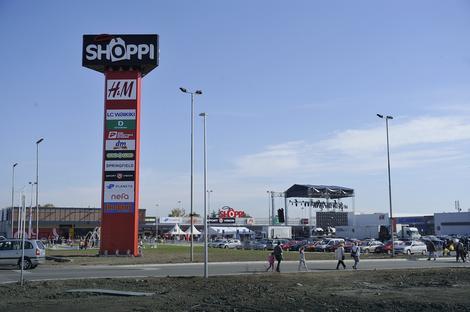 Shoppi je izgrađen u rekordnom roku - za manje od šest meseci