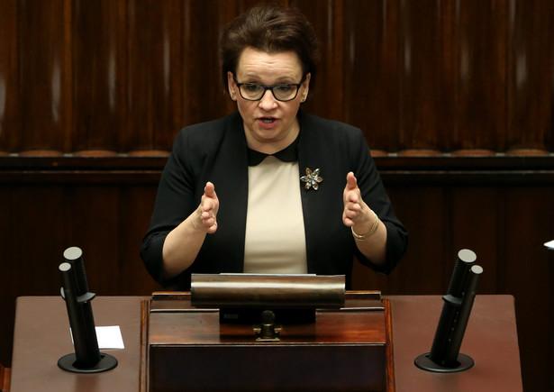 Zalewska dyskutowała samorządowcami z Mazowsza o planowanej reformie szkolnictwa.
