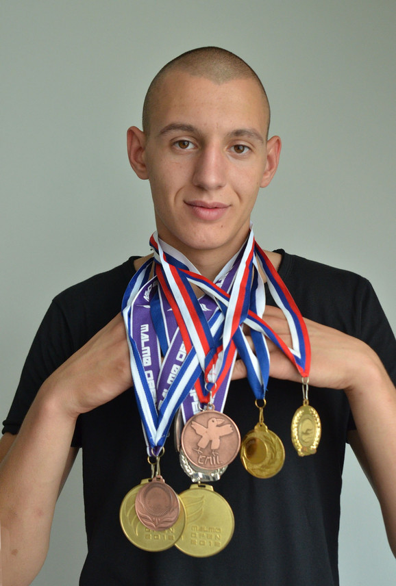 Veliki broj medalja svedoči o upornosti