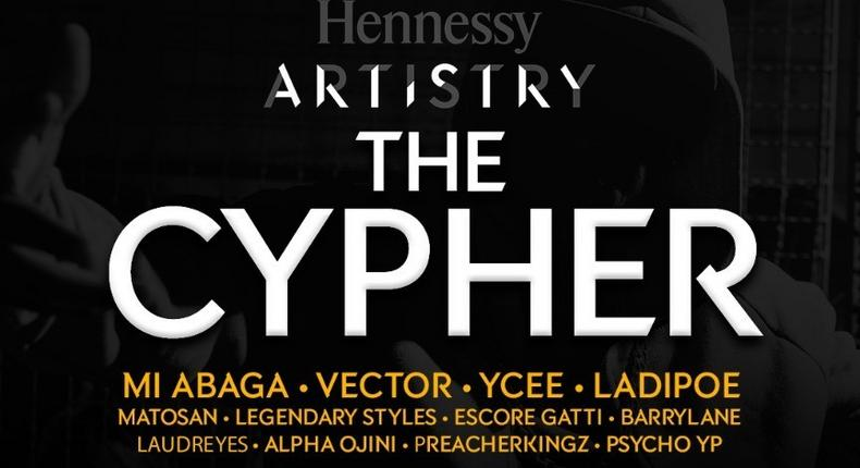Hennessy Artistry 2021 Cyphers will run for three weeks