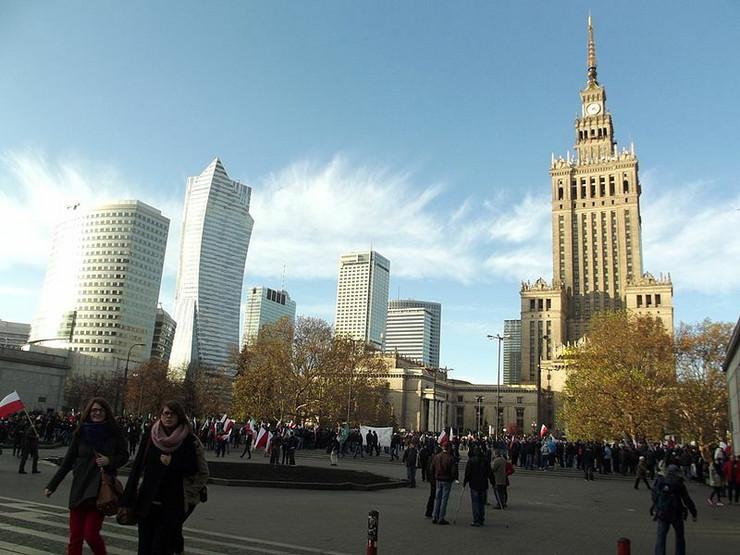 poljska, palata kulture i nauke
