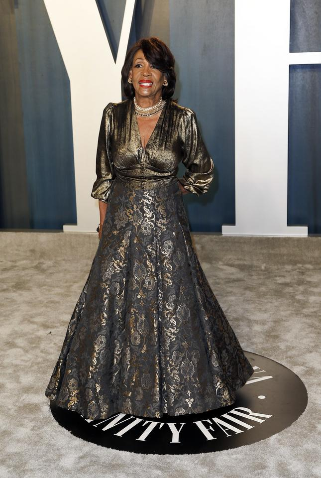 Oscary 2020: Maxine Waters na Vanity Fair Oscar Party