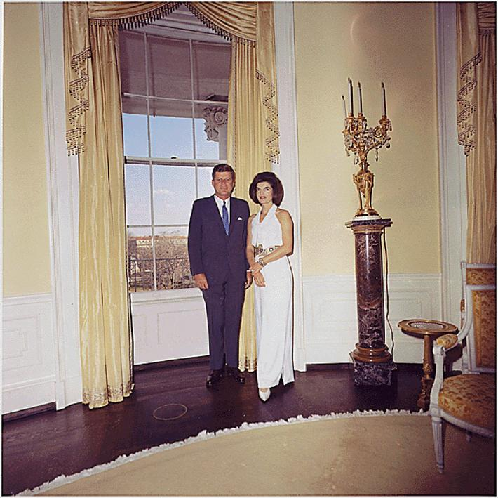President John F. Kennedy and First Lady Jacqueline Bouvier Kennedy