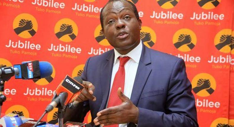 Raphael Tuju's team falsified documents - Jubilee Deputy Secretary General Caleb Kositany