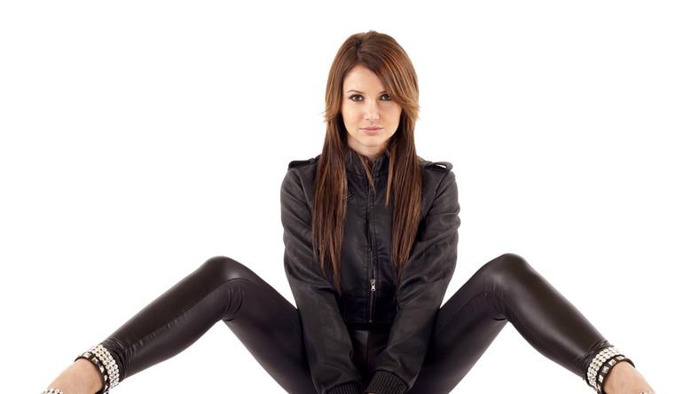 Niewiele kobiet jest zadowolonych ze skórzanych spodni...