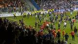 Chuligani zaatakowali piłkarzy, bo wygrali