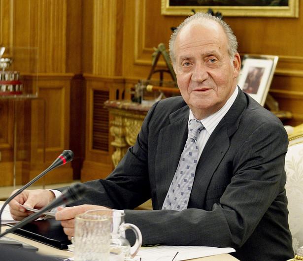 Król Hiszpanii Juan Carlos. Fot. EPA/MANUEL H. DE LEON/PAP/EPA