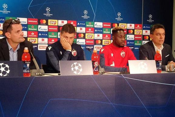 """ŠVAJCARCI PROVOCIRALI MILOJEVIĆA """"Naši navijači su OSVOJILI Ligu šampiona, POBEDIĆE I OVDE"""""""