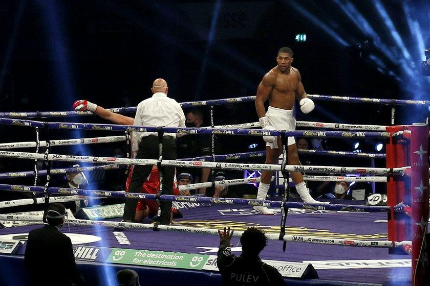 Joshua pokonał Pulewa przed czasem