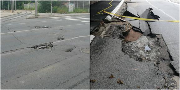 Putevi u Požeškoj i Valjevskoj ulici