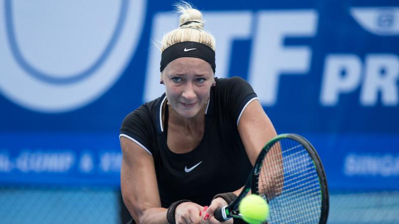 Jana Sizikova podczas turnieju ITF Thailand Women's Pro Circuit 1 we wrześniu 2016 roku