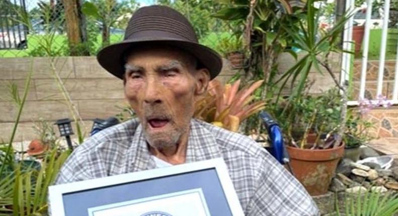 Voici l'homme le plus vieux du monde