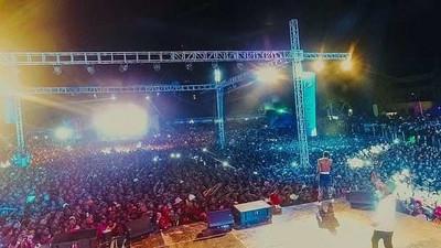 Diamond, Wizkid and Tiwa Savage make history at Wasafi Festival (Photos)