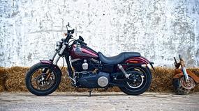 Harley Davidson Dyna Street Bob Special Edition - naprawdę mało chromu!