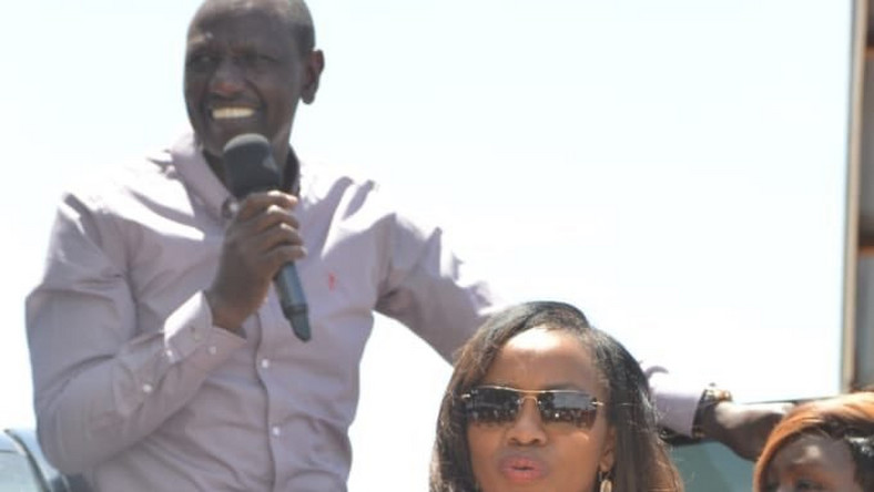 "Nakuru Senator Susan Kihika celebrates new role as DP Ruto's ""bodyguard"""