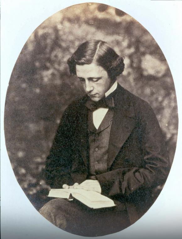 Lewis Carroll w połowie lat 70. XIX w. Zdjęcie z notatnika Alice Liddell