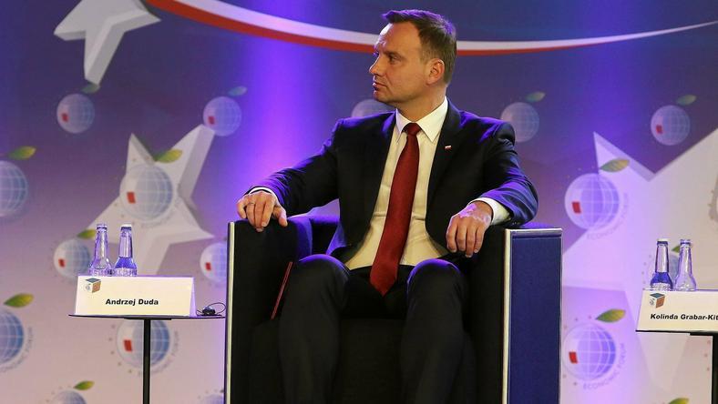 Andrzej Duda nie wykorzystał szansy, żeby pokazać Polakom, że jest prezydentem ponad podziałami, fot. Marek Podmokły/Agencja Gazeta