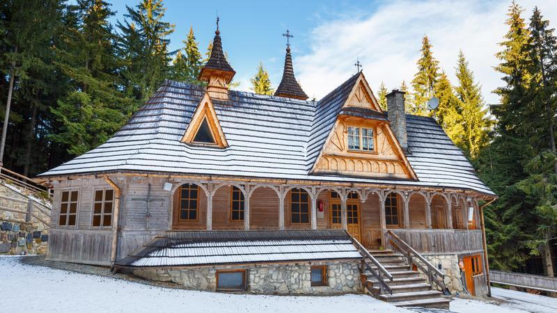Sanktuarium Matki Bożej Królowej Tatr na Wiktorówkach w Tatrach