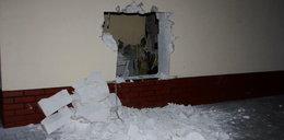 Wybił dziurę w ścianie. Jego plan się nie powiódł