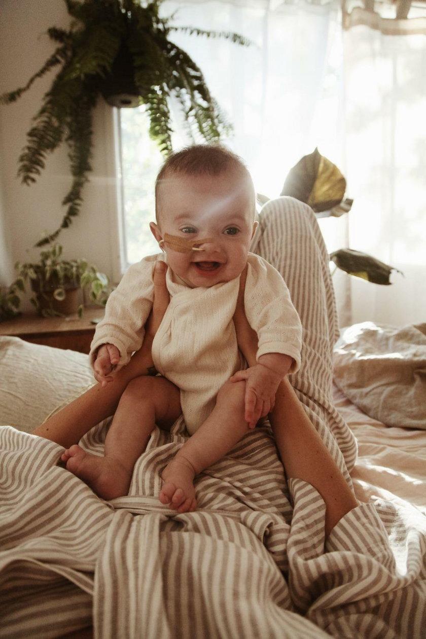 Jessica Stein opowiada o chorej córeczce