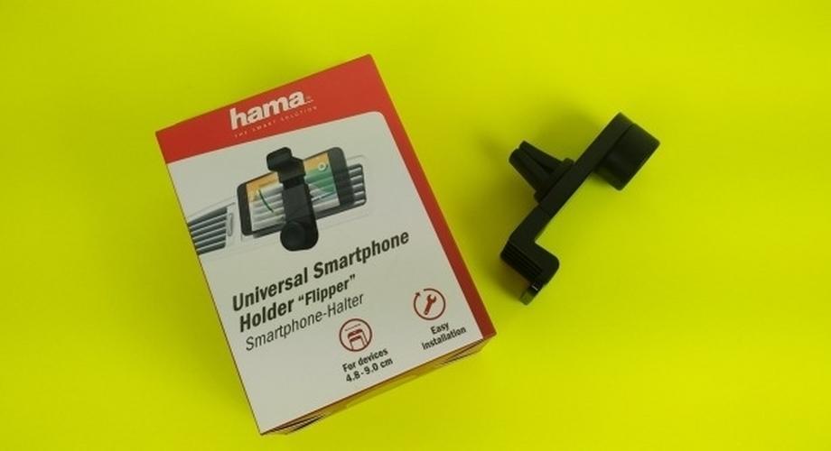 Hama Flipper: Handy-Halterung fürs Lüftungsgitter im Test