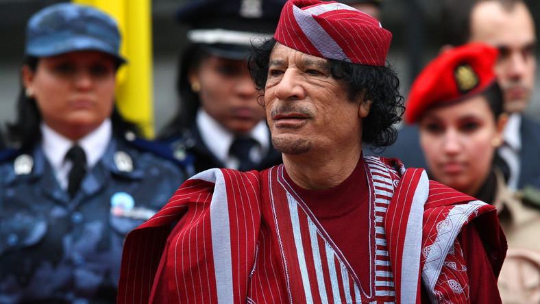 Szatański plan Kadafiego. Chciał urządzić piekło we Włoszech
