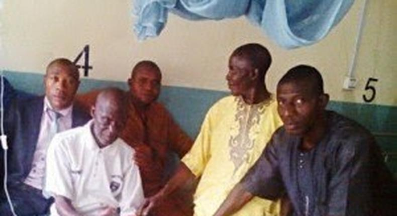 Septuagenarian, Amos Otene cheats death and wakes up in mortuary after being pronounced dead