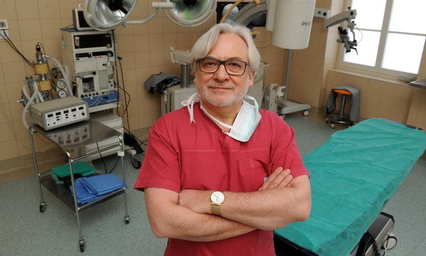 prof. Wojciech Maksymowicz, neurolog