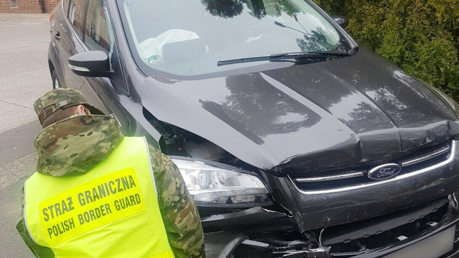 Szczecinianin ukradł w Niemczech forda