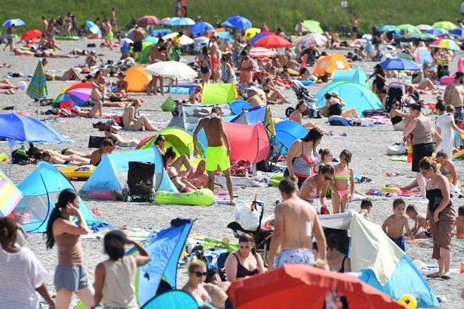 Popularno jezero istočno od Minhena ovog meseca