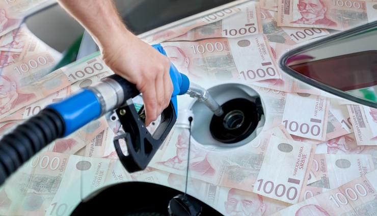 benzin dinari kombo RAS Shutterstock