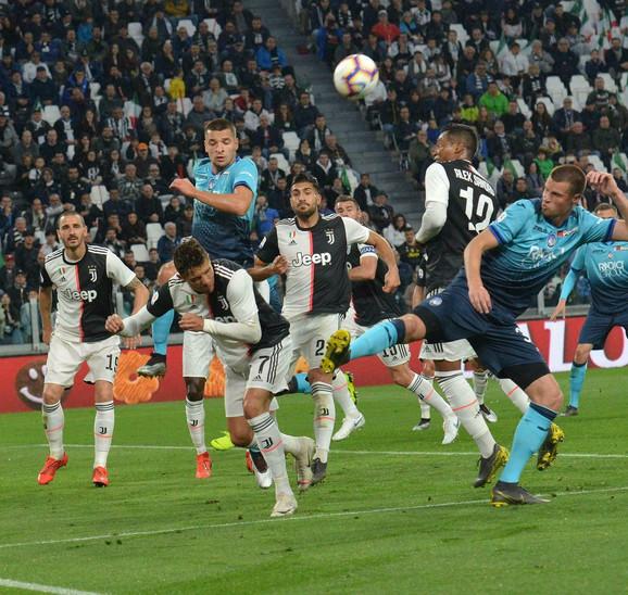Detalj sa meča Juventus - Atalanta