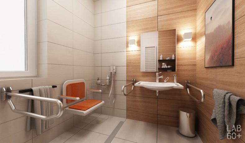 WC w Domu Dziennego Pobytu w Pieninach