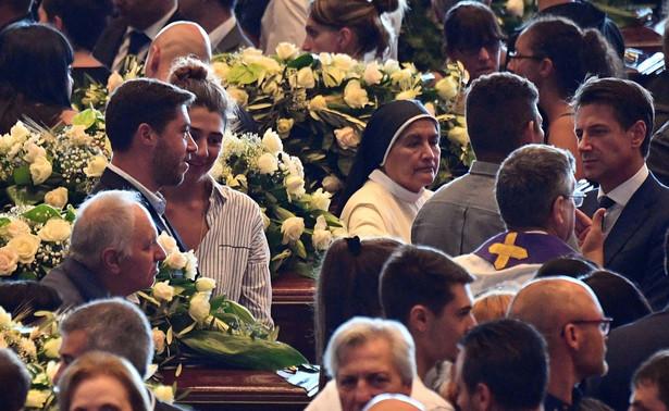 Pogrzeb państwowy osób, które zginęły w wyniku zawalenia się mostu w Genui