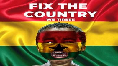 Here is why #FixTheCountry is trending on social media in Ghana
