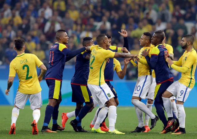 Nejmarov start izazvao je sukob fudbalera Brazila i Kolumbije