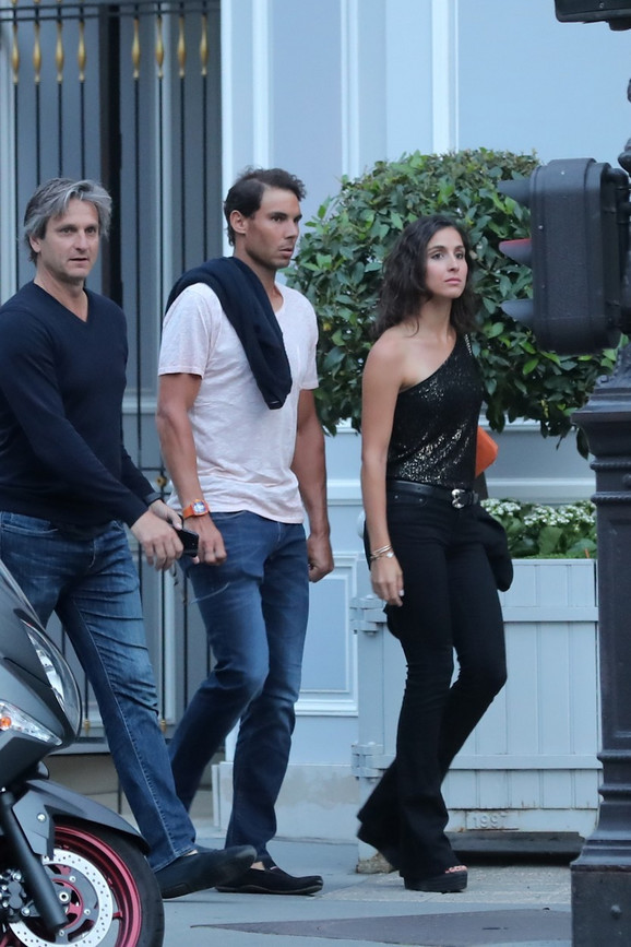Rafael Nadal i Marija Fransiska Pereljo pre nekoliko dana